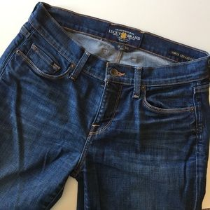 Lucky Brand Sofia Straight 5 pocket ankle jeans